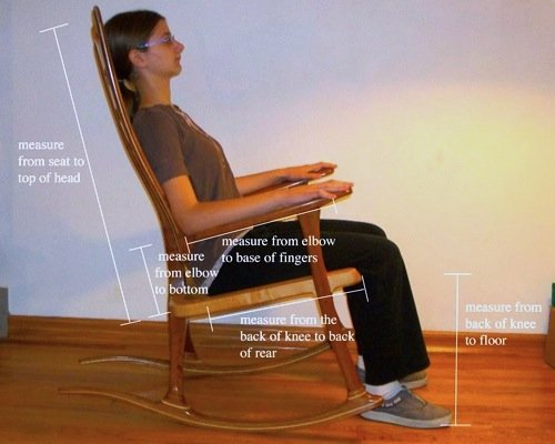 Adult Rocking Chairs Need Your Correct Measurements To Fit