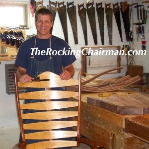 The Rocking Chair Man, Your Authority For Custom Rockers